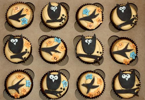 ΧΩ cupcakes. TSM.