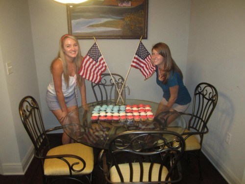 America Cupcakes. TSM.