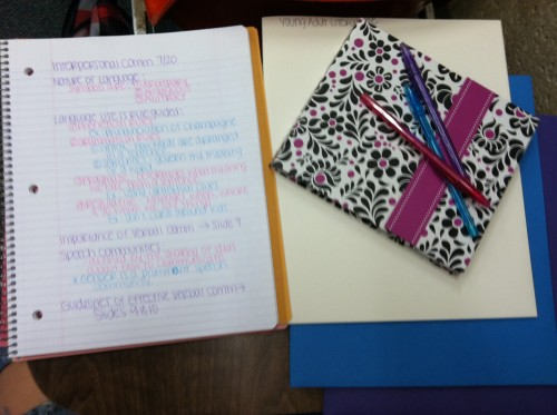 Color-coding EVERYTHING. TSM.