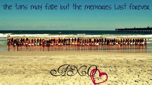 The tans may fade but the memories last forever. TSM.
