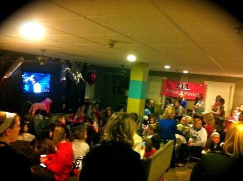Victoria's Secret watch party as a sisterhood event. TSM.