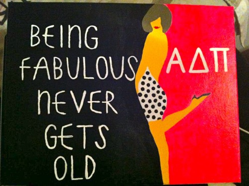 Panhellenic love to my KD best friend who made this for me! TSM.
