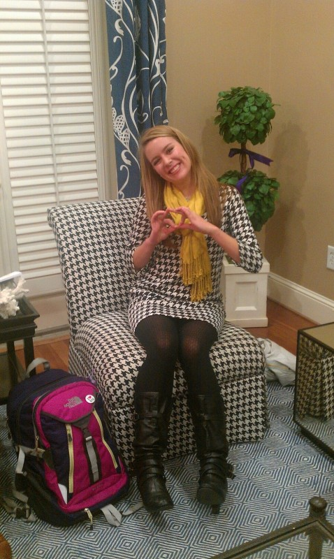 When your outfit matches the furniture in your house. TSM.