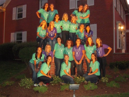 Biggest family in the chapter, appropriately named The Mob. TSM.