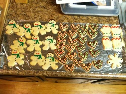 Christmas cookies. TSM.