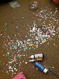 My floor looks like this 90% of the time. TSM.