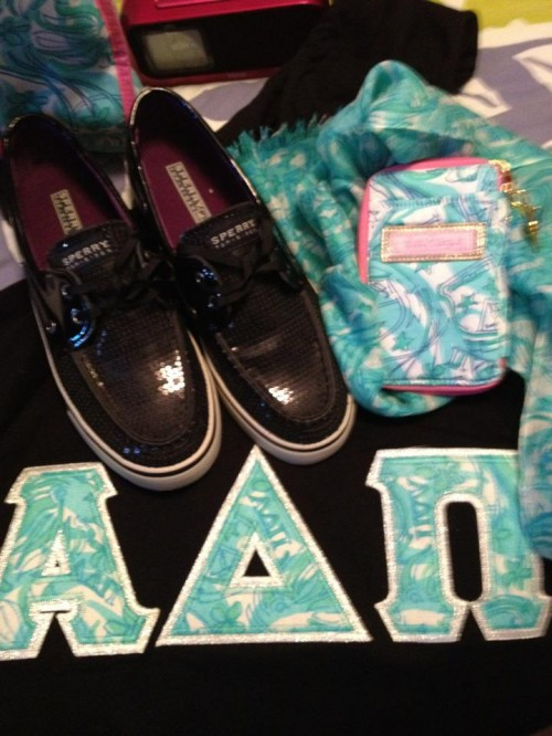 Lilly and Sperrys...thank you daddy for my sratty christmas. TSM.