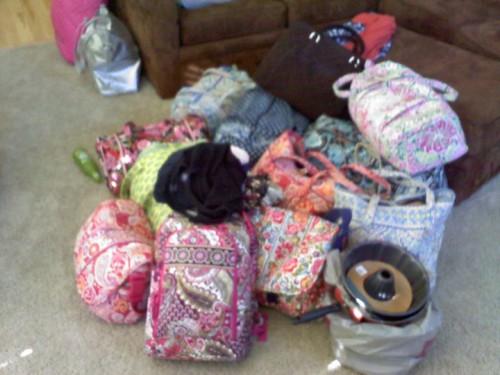Favorite part of packing? Vera.
