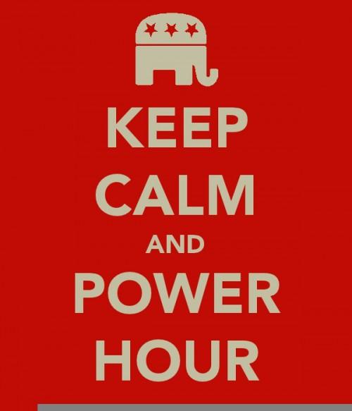 KEEP CALM AND POWER HOUR