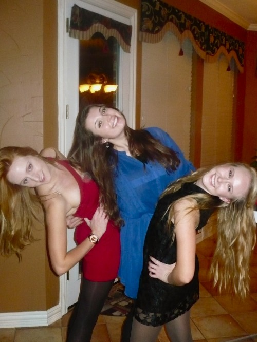 You can never have enough great friends...or head tilting. TSM.