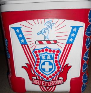 KA's commemorative logo for Pearl Harbor. My boyfriend's birthday is December 7th. TSM.