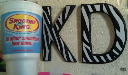 Smoothies & Letters. TSM.
