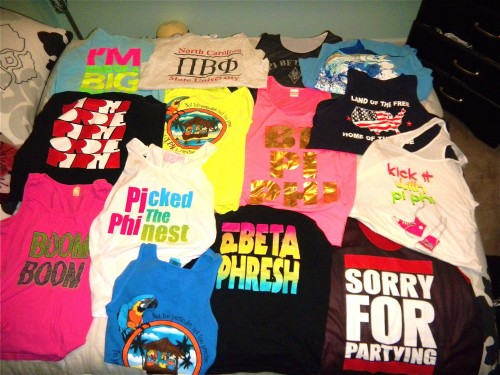Picking which tanks to pack for Spring Break is a nearly impossible decision. TSM.