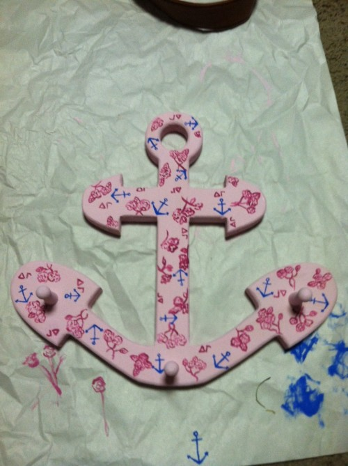 DG Lilly print anchor for my Big!