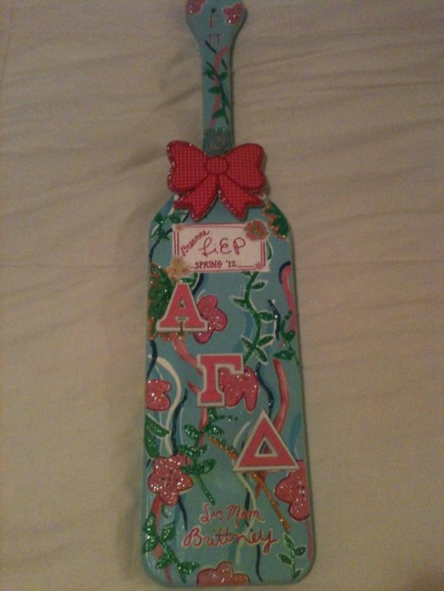 Obsessing over my first paddle! TSM.
