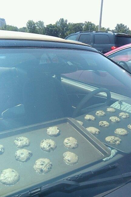 Baking cookies. TSM.