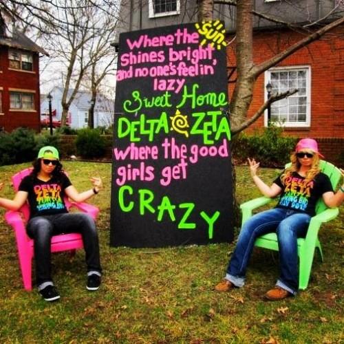 Where the good girls get crazy. TSM.