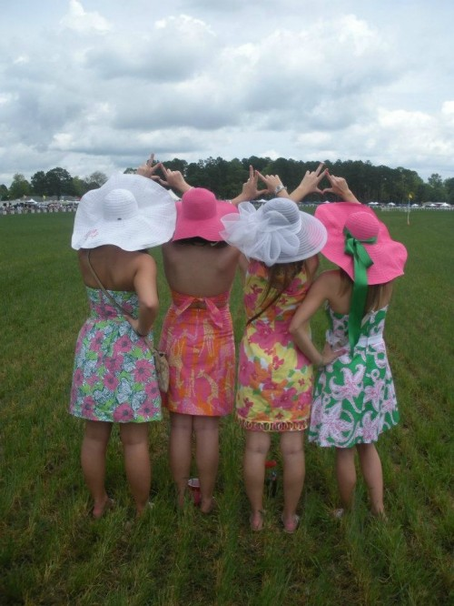 At the end of the day it isn't about the letters you wear but the bonds you make with your sisters. TSM.