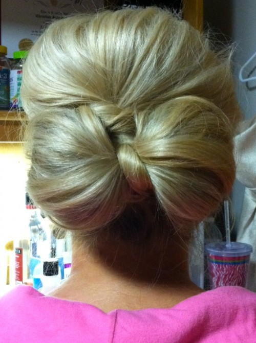 Bow hair, don't care. TSM.