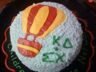 Baked Sigma Chi a cake for Derby Days. TSM.