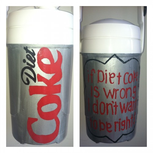 If diet coke is wrong, I don't want to be right! TSM.
