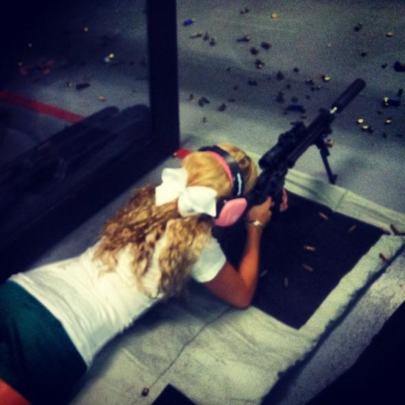 Bows and anti-material rifles. TSM.