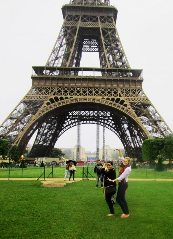 DG & GPhiB love in Paris, throw what you know everywhere you go! TSM.