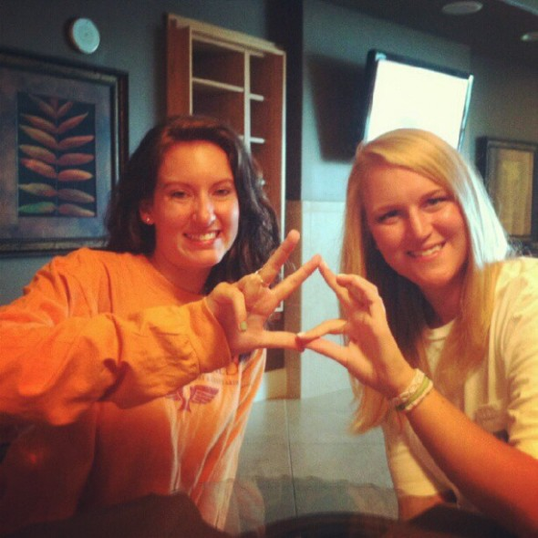 Throw what you know, Phi Mu and Theta. TSM.