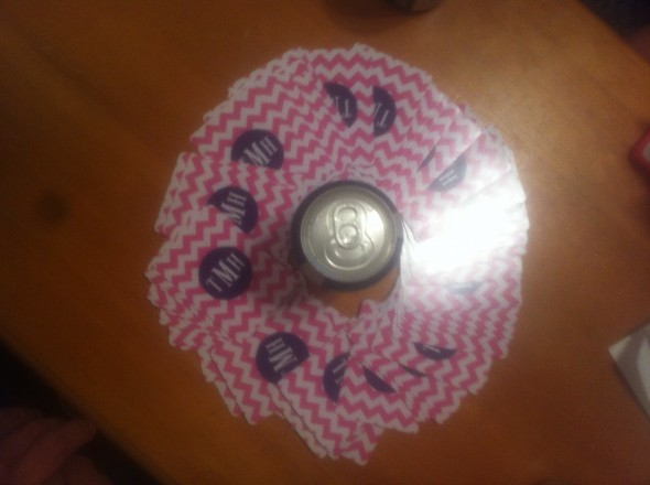 The only way to play Circle of Death: with monogrammed playing cards. TSM.