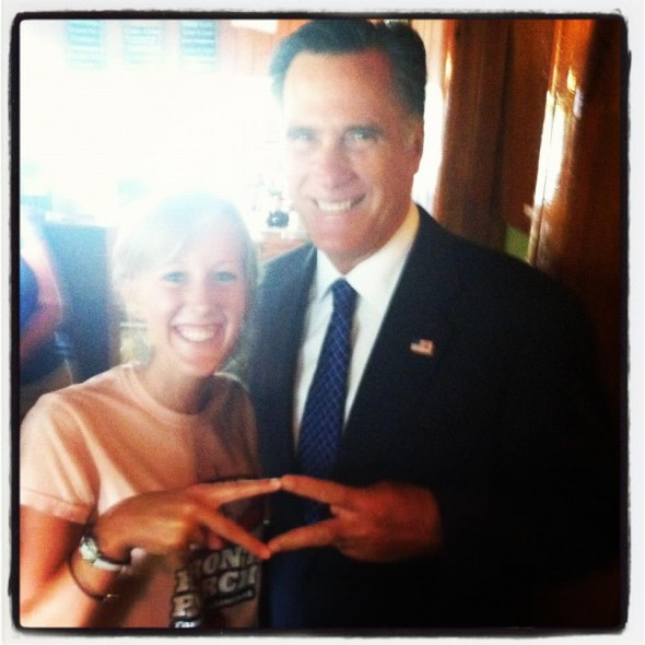 Mitt throwing what he knows. TSM.