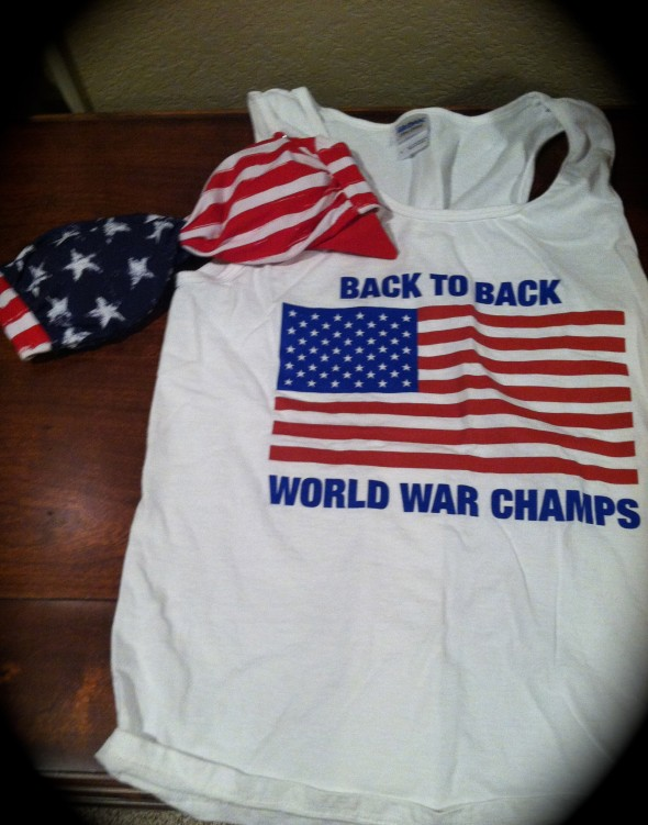Getting my Fourth of July outfit ready! TSM.