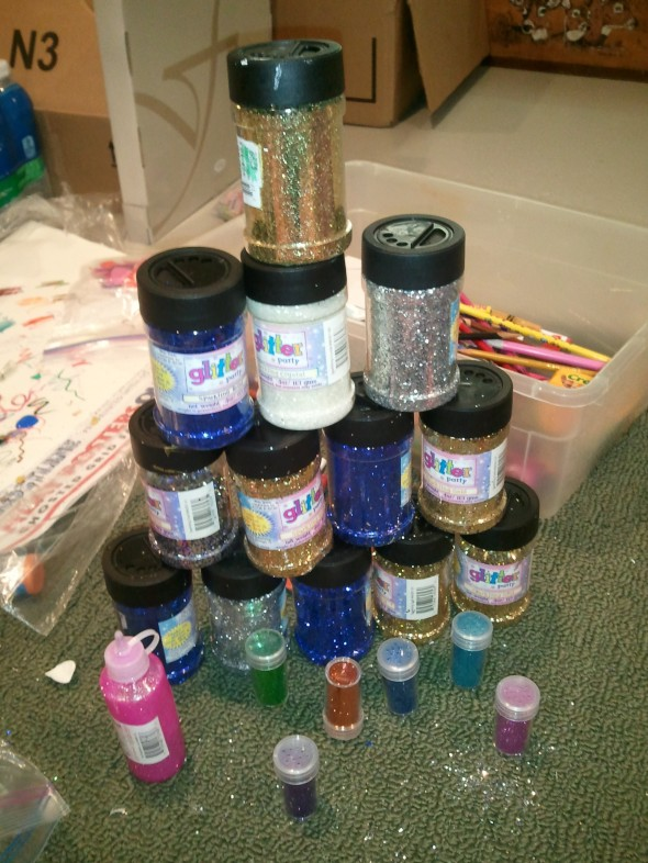 I think I'm running low on glitter. TSM.