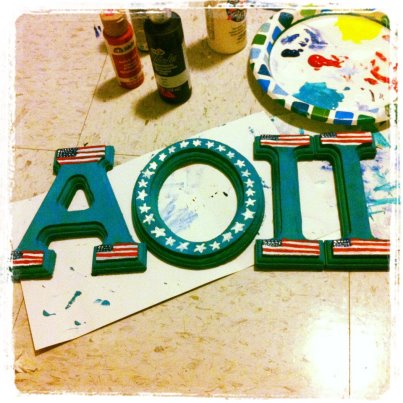 Proud of my country and my letters! TSM.