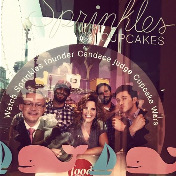 Sprinkles in Georgetown representing TFM. TSM.
