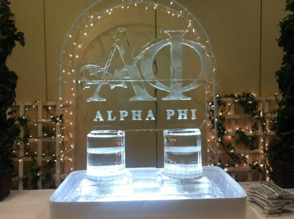 Pref morning ice sculpture. TSM.
