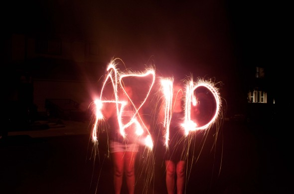 Sparklers and sorority. TSM.