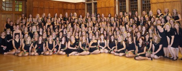 Recolonizing the 18th Panhellenic chapter on campus with 133 new members at a university that already has the 3rd largest Greek system in the country. TSM.