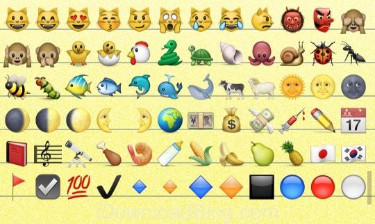 New Emoji For iOS6