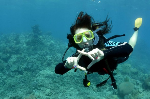 Throwing what you know underwater at the Great Barrier Reef. TSM.