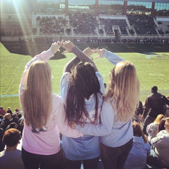 Game day, throw what you know. TSM.