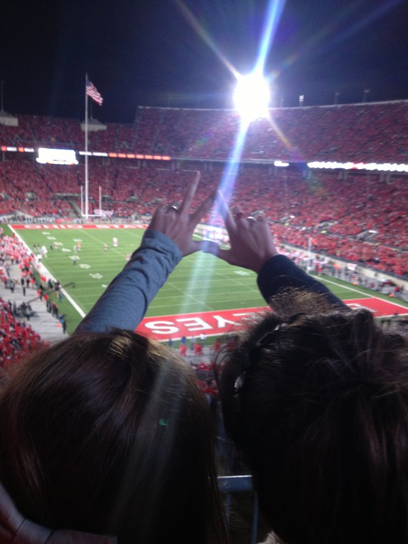 Buckeyes and sisters for life. TSM.