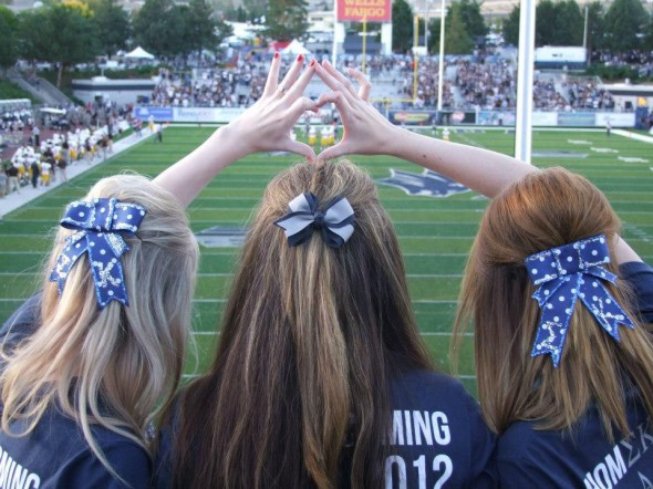 Football, bows, and SigKap love. TSM.