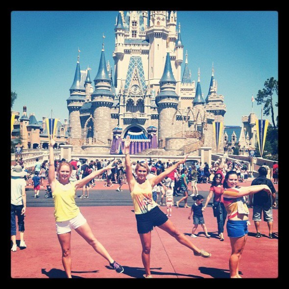 Happiest place on earth with the sisters that make you the happiest girl. TSM.