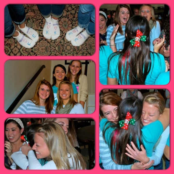 I just love my twins' reveal faces, out first official hug as big and little, and the family portrait <3. TSM.
