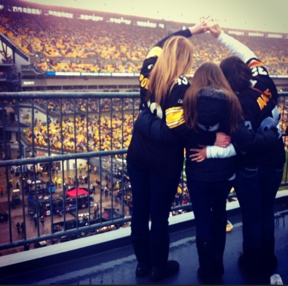 Sisters and Steelers. TSM.
