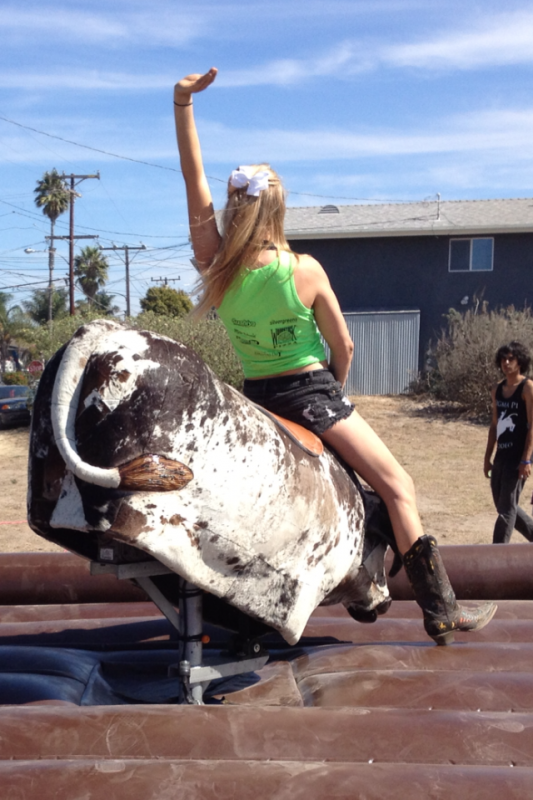 The best philanthropies always involve a mechanical bull. TSM.