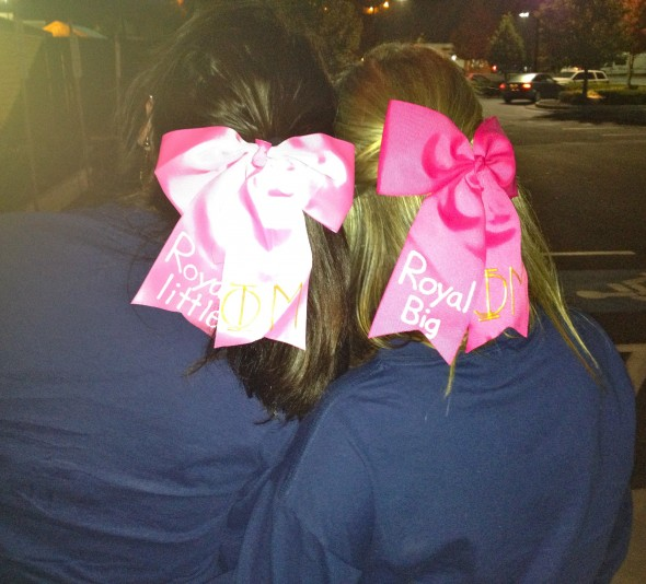 Better than bid day, initiation, and all of our functions combined: the day I got my little. TSM.