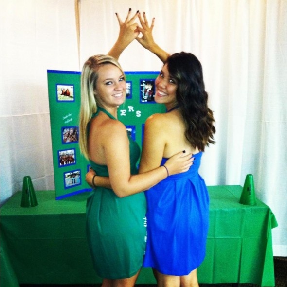 Becoming even closer with your big than you though was possible during recruitment. TSM.