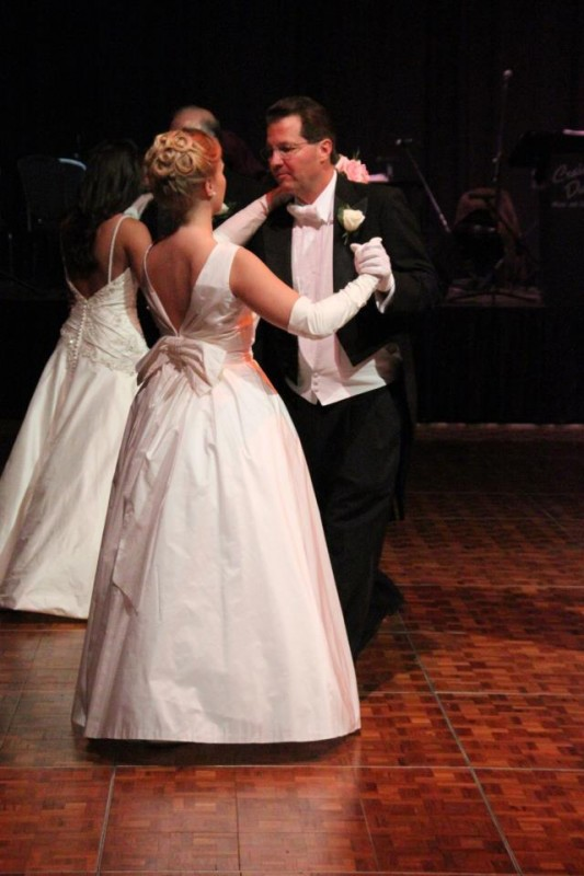 Dancing with daddy at deb. TSM.