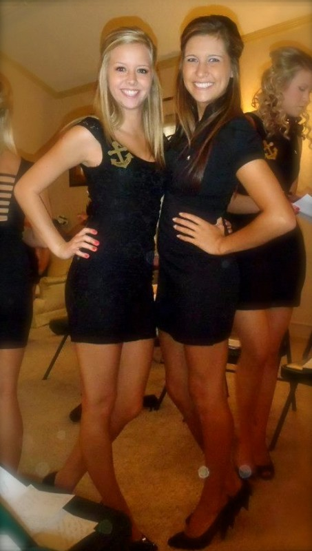 Little black dress. TSM.